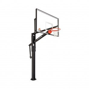 "FT72 Basketball Hoop 72"" Glass Backboard"