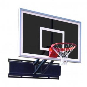 Uni-Champ Eclipse Adjustable Wall Mount Basketball Goal