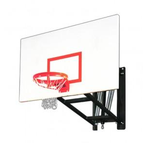 WallMonster Excel Adjustable Wall Mount Basketball Goal