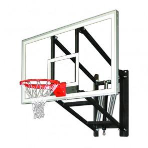 WallMonster Supreme Adjustable Wall Mount Basketball Goal